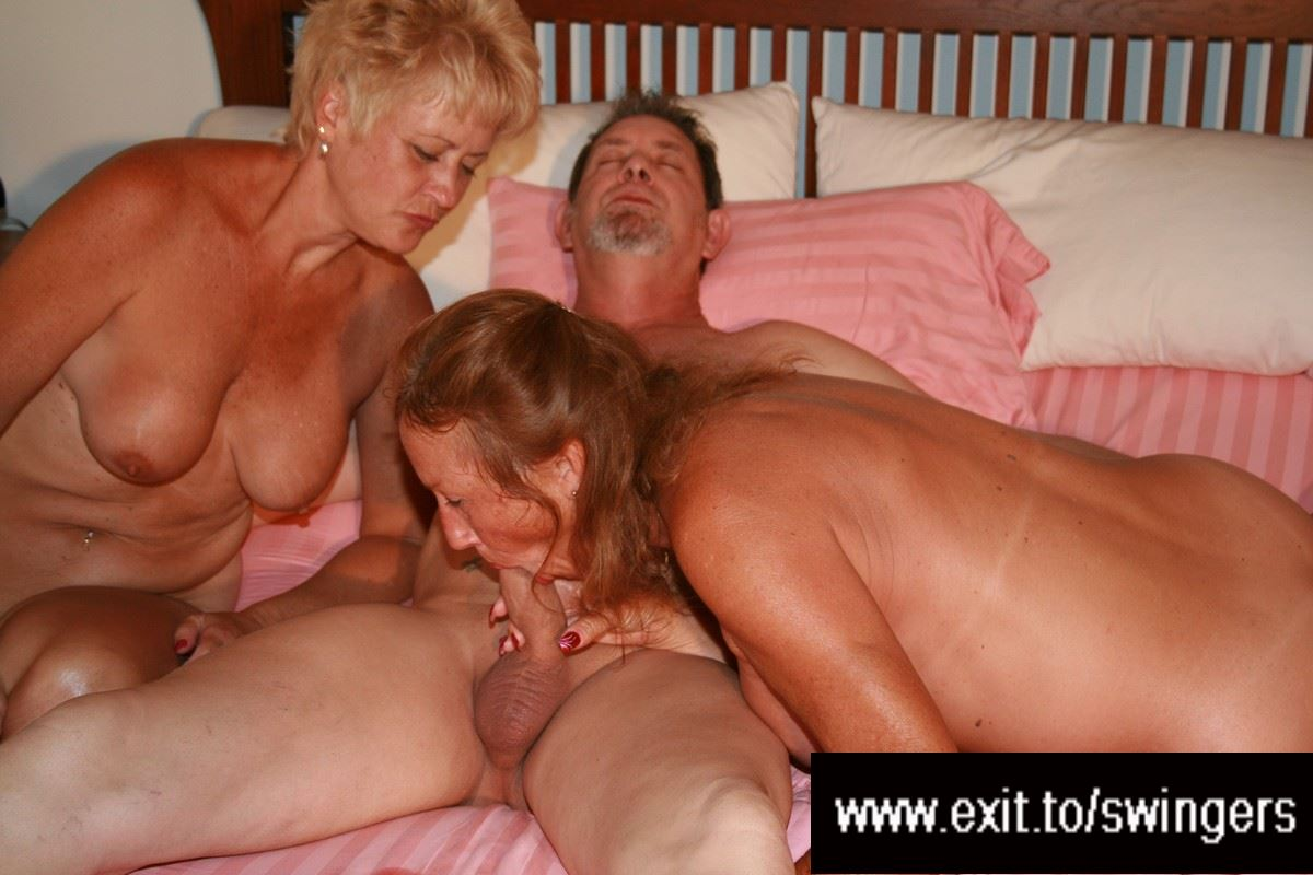 Mature adult threesomes