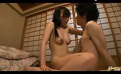 18 Japanese Girl In Glasses Fucks