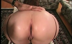 Horny brunette MILF slut with big boobed