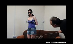 Amateur subbie girl bound and tormented
