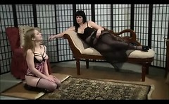 Lesbian Mom Domination In Stockings