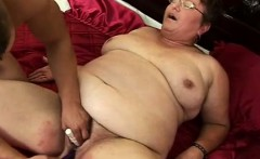 toy fucked large granny cunt