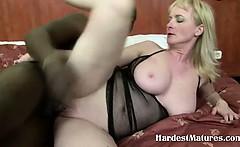 blonde milf hardcore black anal
