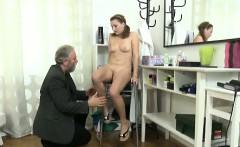 Sveta and her boyfriend bring in an older lover who loves