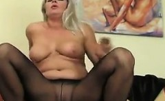 Mature Woman In Nylons