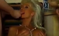 Blonde MILF Double Penetrated