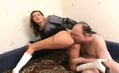 Russian MILF Face Sitting