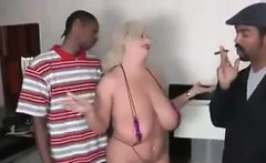 Fat Woman Fucked By Two Black Guys