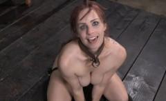 BDSM sub Bella Rossi bizarre puppy play