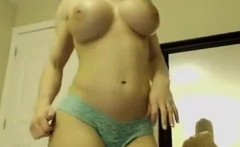Hot Blonde Webcam Girl With Big Tits 4