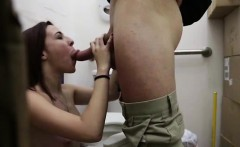 amateur babe sucks big cock for pawn cash
