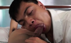 Asian twink MD getting dick sucked