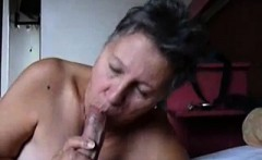 Homeamde video Granny gives a head