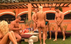 Outdoor sex game beauties