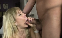 Horny Stepmom gets banged from behind
