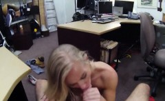 Small tits milf sells her car and banged with pawnkeeper