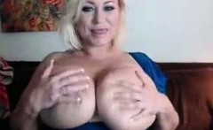 Busty Huge Tit Milf Plays With Some Huge TITS!