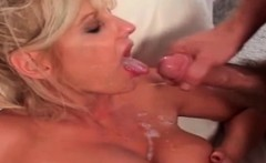 Sexy milf blonde fucking her ass by stepbroth
