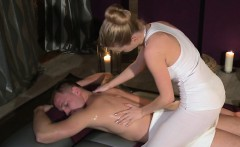blonde masseuse giving nuru massage and fucking