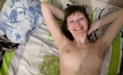 Russian Housewife Playing With A Cock POV