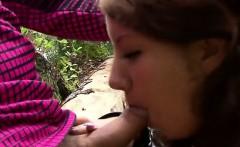Young Slut Elona Explores Cock In The Woods