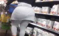 Big Ass At Walmart Being Followed Secretly