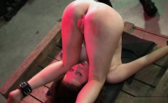 Sexy girlfriend anal dildo