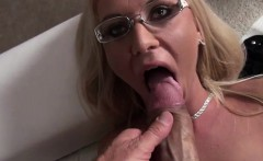Lovely blonde Dora gets fucked hard