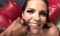 Hot sister jizz in mouth