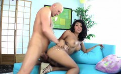 TS shemale swallowing cum of guy