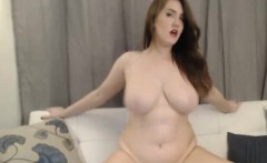 Huge Tits Scarlett Rides her Toy