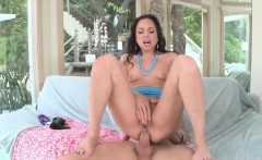 Sweet babe Trinity St. Clair with a hard cock