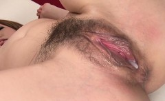 Her masseuse gave her his dick and a cream filled pussy