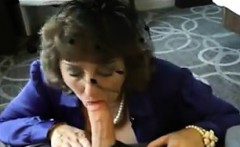 Mature Woman Sucks Cock Point Of View