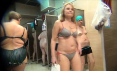 public shower spy video with naked amateur girls