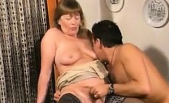 Grandma Gets A Younger Cock Cuckold