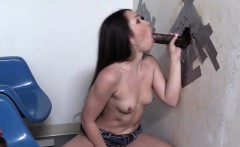 Lola Foxx Gets Some Black Cock At A Glory Hole