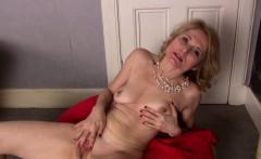 Hot MILF Isabella strips down and masturbates.