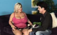 Big boobed Kacey Parker is picked up