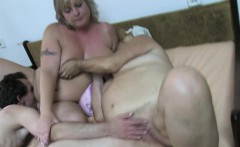 Old crazy mature is enjoy young guy