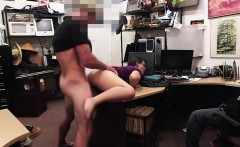 Shop lifter gets caught and fucked