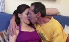 grandpa with big cock seduce grand daughter to fuck