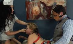 Extreme dildo anus sex with rope BDSM teacher