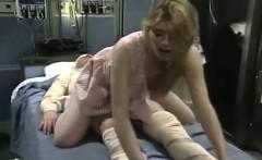 Capri Cameron, Brian Surewood in panty-less nurse fucks a