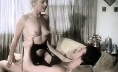 Juliet Anderson, Ron Hudd in hot 80's porn video with