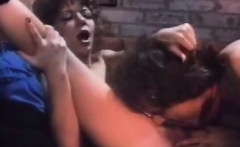 Karen Summer, Dan T Mann in vintage classic porn blowjob