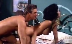 raven, buck adams in hot couple fucking in classic retro