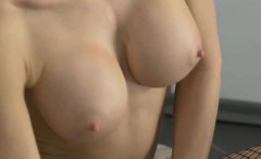 Busty Chick Gets Her Pussy Licked And Eaten
