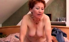 Mature Redhead Takes It Like A Teen