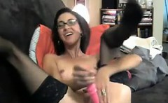 Dirty Mother Masturbates Live